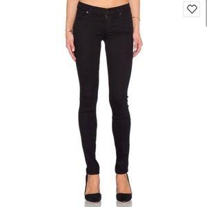 C of H Black Avedon Slick Skinny Leg Jeans Size 24